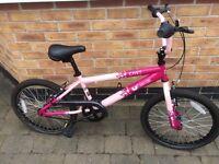 Girls 12'' frame pink envy vibe bike