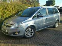2011 11 VAUXHALL ZAFIRA 1.7CDTI DESIGN ECOFLEX*FSH*7-SEATS*LEATHER*CHEAP TAX+INS#S MAX#GALAXY#TOURAN