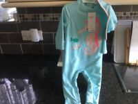 M&S Sun smart swim suit brand new and tagged 9-12 months