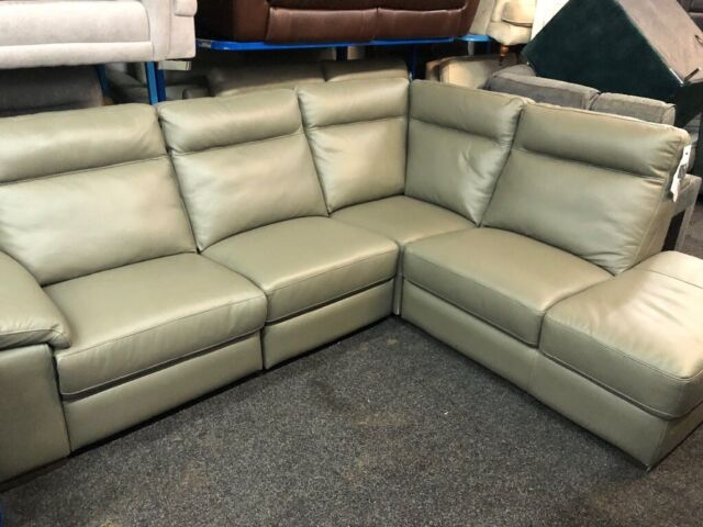 NEW EX DISPLAY LazyBoy GREY LEATHER SRENTO ELECTRIC RECLINER CORNER SOFA 70%Off RRP LEFT RIGHTHAND | in Leeds City Centre, West Yorkshire | Gumtree