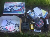 Tamiya Vintage Ford Focus wrc remote control car