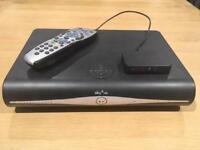 SKY+ HD Box & Wireless Connector Mini & Remote Control