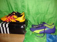 Adidas x.1.0.5 trainers, Puma evospeed Boots, +Nike Fusion 2 Trainers (size 3.5 uk free)
