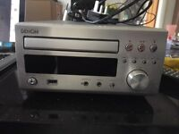 Denon RCD-M37 DAB stereo system - silver
