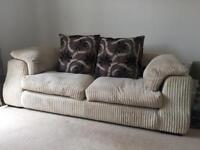 Sofa, Swivel Chair and Foot Rest