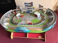 Cars 3 table with racing tracks