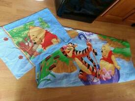 Winnie the Pooh single bed duvet cover set