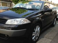 MINT 2005 CONVERTIBLE 2.0vvt(136) 6 SPEED MEGANE-2OWNERS-1 YEAR MOT-FULL SERVICE HISTORY!!!