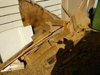 Free wood for chimnea, woodburner