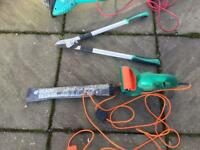 Hedge cutter,crops and strimmers