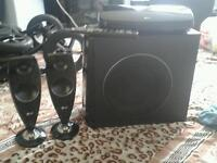 LG home cinema speaker set