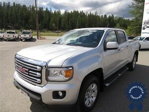 2015 GMC Canyon SLE 4WD Crew Cab Short Box Truck, Seats 5 People