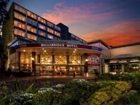 One night Halloween Break Ballsbridge Hotel Dublin £210