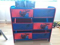 Kids Spider-Man storage unit