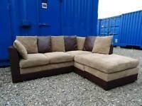 Brown Corner Sofa *Mint Condition*