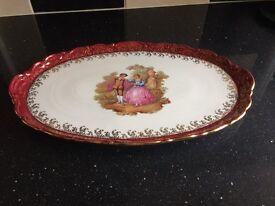 bone china meat plate
