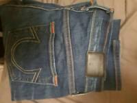 True religion authentic women's jeans