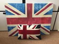 Canvas and cushion 🇬🇧