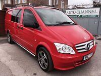Mercedes-Benz Vito 3.0 122CDI Dualiner Sport .Diesel Automatic (EU5) (221 g/km, 224 bhp)£17,950