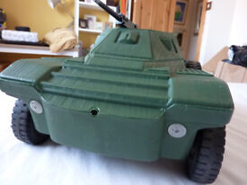 Vintage 1973 Action Man Scout Car by Irwin Palitoy dinky corgi