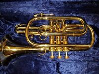 Boosey & Hawkes 400 student cornet. great condition