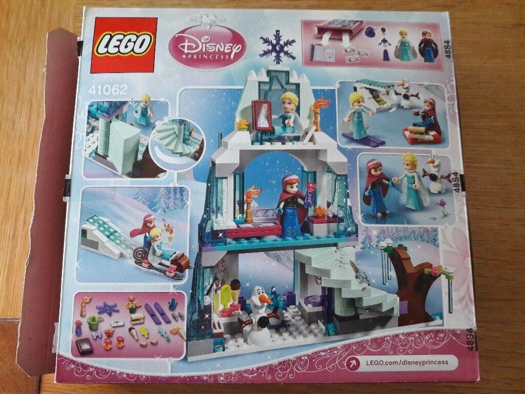 Lego Disney Frozen Castle set with Elsa & Anna,Olaf. Great Set