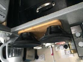 Slick car speakers