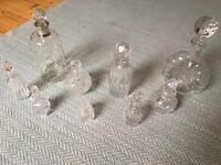 Vintage style Glass bottles