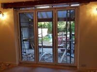 Aluminium White Bifold Doors