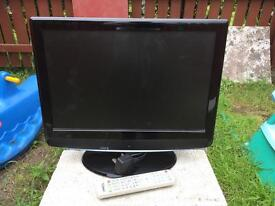 "TECHNIKA 19"" LCD TV WITH BUILT IN DVD PLAYER"