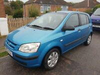 hyundai getz 1.4 automatic 03 reg 90000 miles with service history