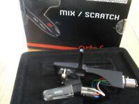 Technics Headshell + Ortofon OM Pro S Cartridge + Stylus