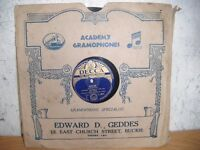 Old 78 Records For Sale