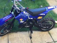 Midi moto not mini moto