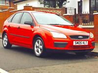 FORD FOCUS 1.4 STUDIO 2005 LOW MILEAGE MOT CLEAN&TIDY PRICED TO SELL 3 MONTHS WARRANTY