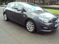 VAUXHALL ASTRA TECH LINE 2013 1.3 CDTI S/S ECOFLEX MET GREY, SAT NAV AND FULLY LOADED SPEC, ONLY 55K