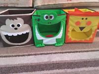 Character toy boxes