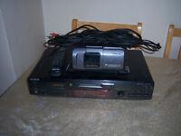sony minidisc 6 disc changer & sony minidisc player /recorder