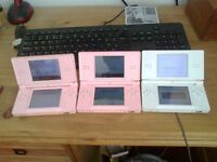 three ds lite games consoles