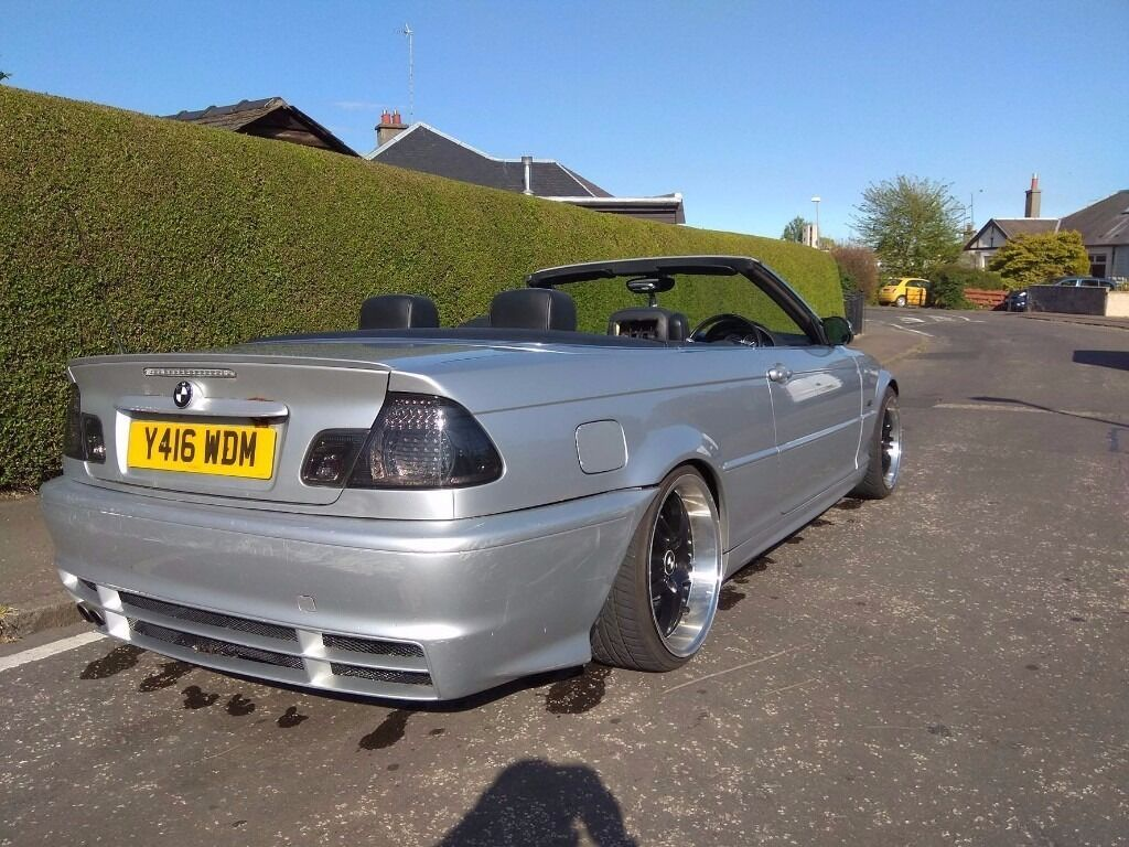 bmw e46 330ci convertible cabrio in leith edinburgh gumtree. Black Bedroom Furniture Sets. Home Design Ideas