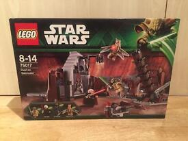 Lego Star Wars Duel On Geonosis set number 75017. Discontinued set. Mint in sealed box