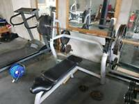 Technogym Olympic bench press
