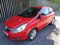 VAUXHALL CORSA 1.2 SXI 2009 3 DOOR RED 54,000 MILES MOT 15/03/19 EXCELLENT CONDITION LOW MILES