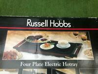 Russell Hobbs Three Plate Electric Tray Hot Plate