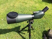 BARR AND STROUD SAHARA SPOTTING SCOPE 20-60X80, EXELLENT COND, VERY CLEAR LENSES