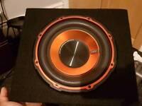 Vibe EDGE Sub+Amp EDB10A-E2 in good condition
