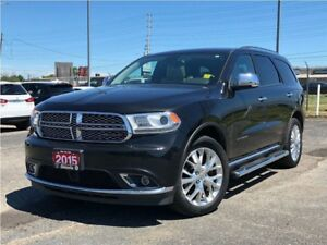 2015 Dodge Durango CITADEL**5.7L**HEMI**LEATHER**SUNROOF**NAV**