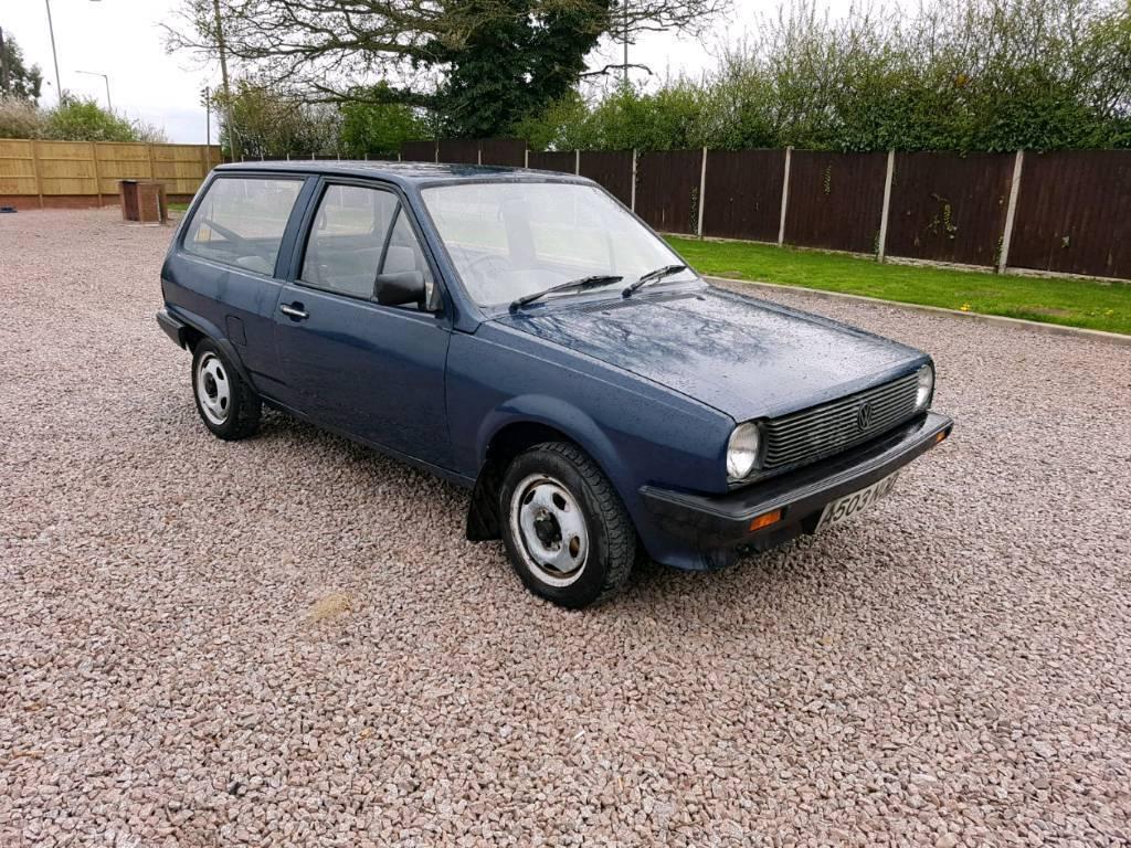 Vw Polo Breadvan Mk2 1 0 1984 Barn Find Volkswagen In