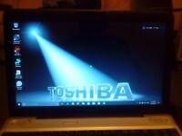 Toshiba Satellite L500, 2.2GHz Core Duo Processor, 4GB of Ram, 250GB Hard Drive
