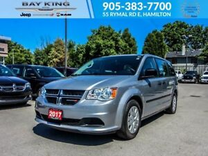2017 Dodge Grand Caravan CVP, 3rd ROW STOW NGO, PWR WINDOWS/LOCK